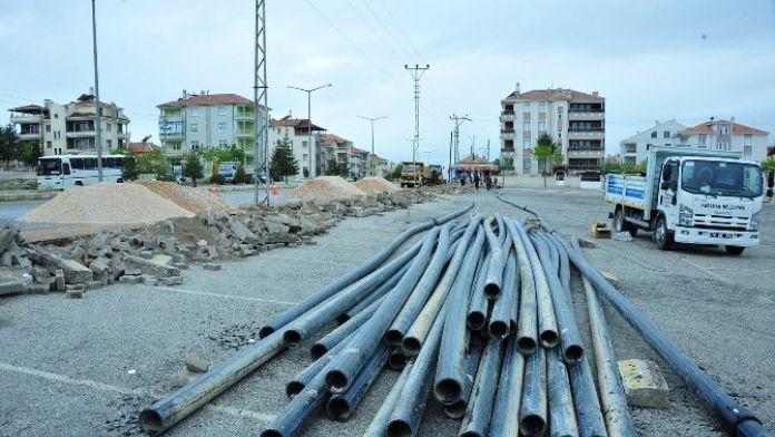 Karaman'da Alt Yapı Çalışmaları