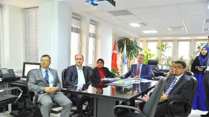 Malezya Sains İslam Üniversitesi'nden SAÜ'ye Ziyaret