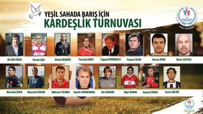 Efsane Futbolcular, Suriyelilerle Maç Yapacak