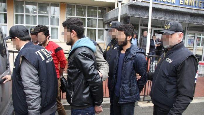 Samsun'daki PKK operasyonu sonuçlandı