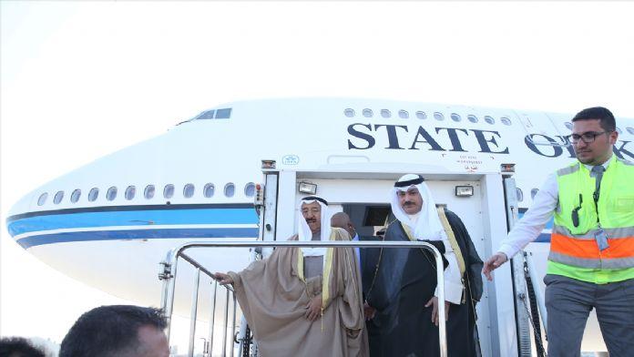 Kuveyt Emiri Şeyh Es-Sabah, İstanbul'a geldi
