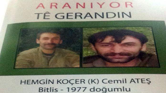 Başına 1 milyon lira ödül konulan PKK'lı ölü ele geçirildi