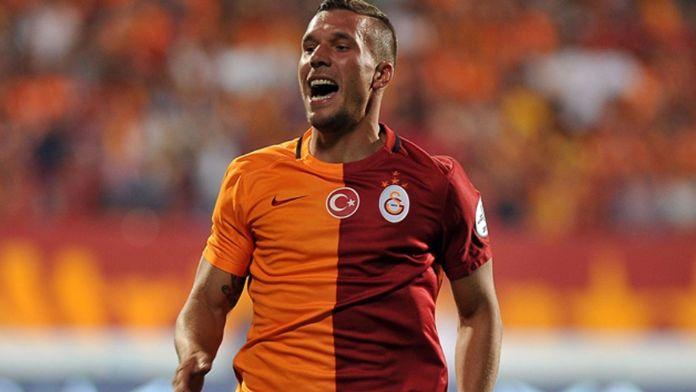 Podolski: 'Onlar buradan bir puan aldıkları için mutludurlar'