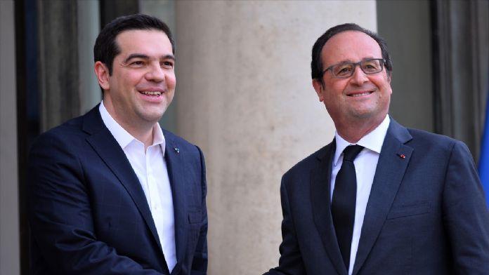 Hollande-Çipras görüşmesi