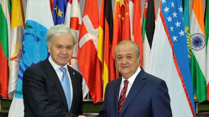 ŞİÖ Genel Sekreteri Alimov Özbekistan'da