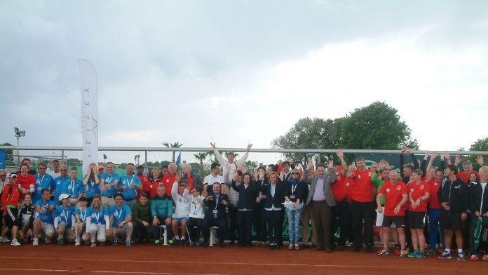 Avrupa Senior Tenis Şampiyonası ilk kez Türkiye'de