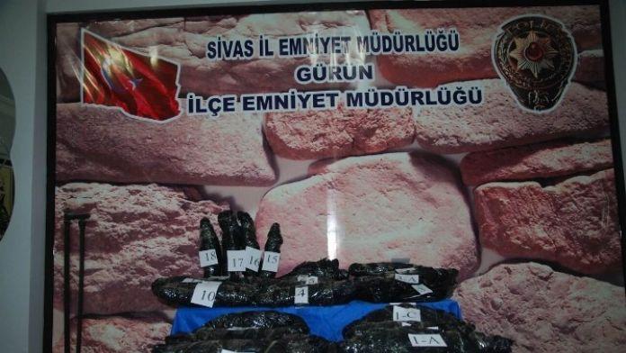 Akaryakıt Deposunda 19 Kilo Kilo Esrar Yakalandı