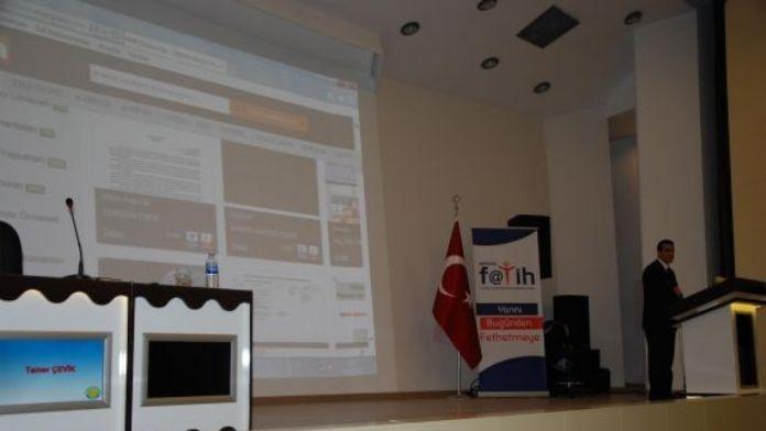 Harran Üniversitesi Eğitim Fakültesi Son Sınıf Öğrencilerine Eba Semineri