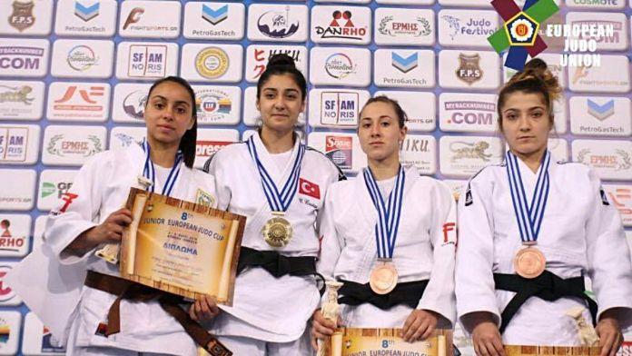 İzmirli genç judocu Avrupa Şampiyonu