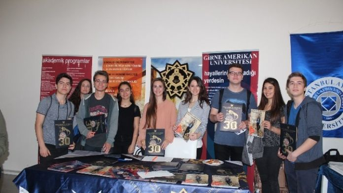 Girne Amerikan Üniversitesi Öğrencilere Tanıtıldı