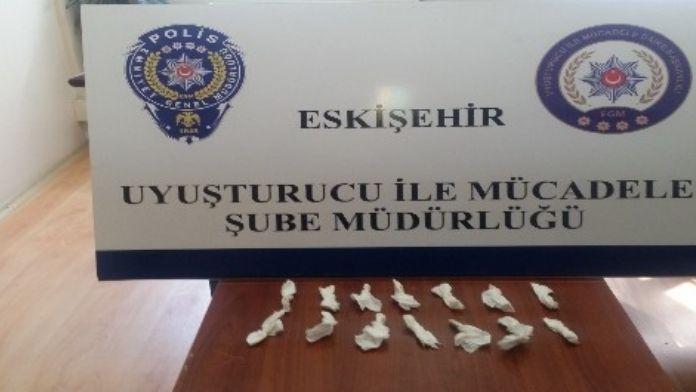 Eskişehir'de Uyuşturucu Satıcılarına Yönelik Operasyon