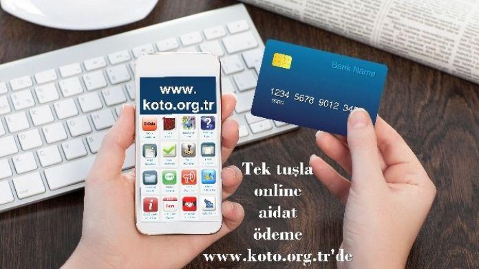 Koto'da Online Aidat Dönemi Başladı