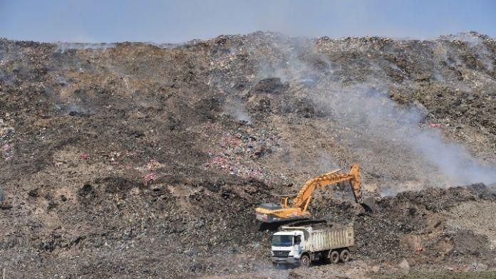 Çöp Toplama Sahası Rehabilite Ediliyor