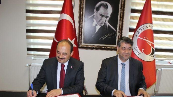 Kastamonu Ve Karabük Üniversiteleri Arasında Protokol İmzalandı