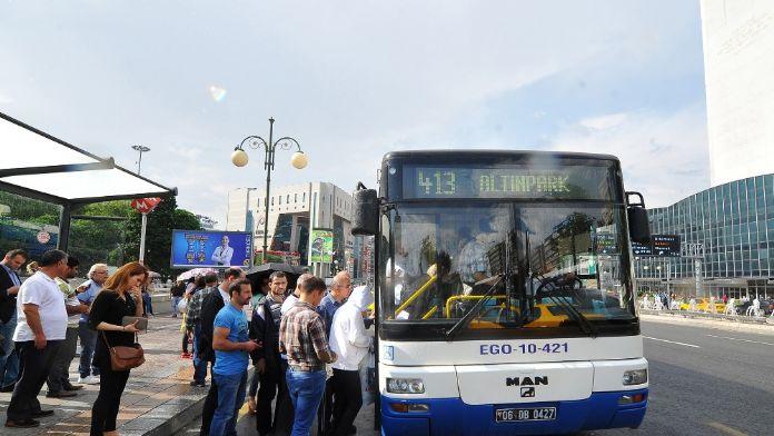EGO otobüsleri polis tarafından takip edilecek