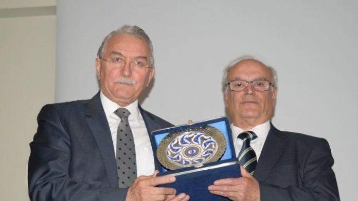 ESOGÜ Prof. Dr. Doğan Erol Törenle Emekliliğe Uğurladı