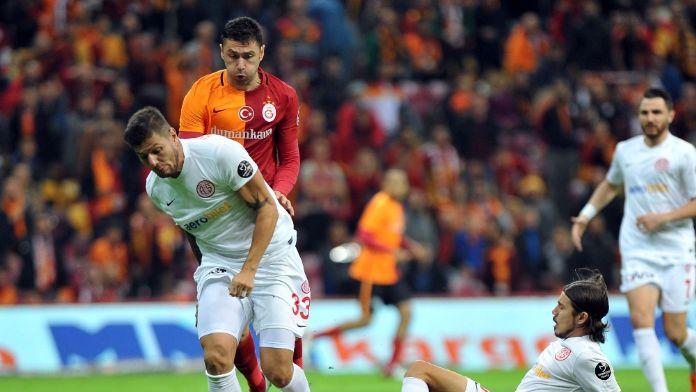 Galatasaray ile Antalyaspor 40. randevuda