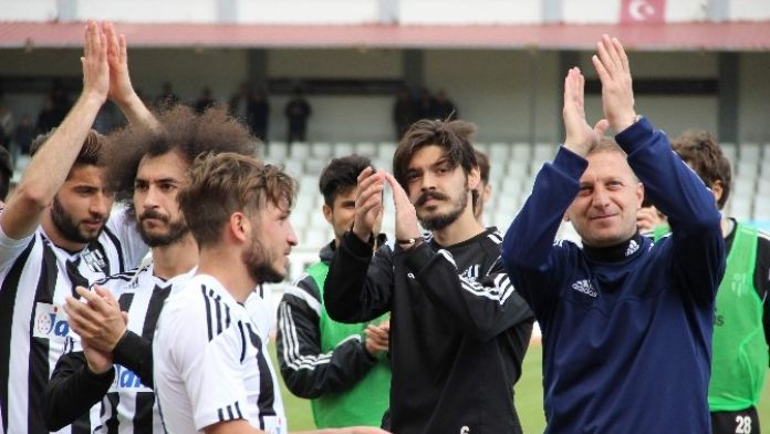 Daşgün: 'Play-off'tan 1. Lig'e Çıkarız'