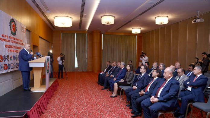 HAK-İŞ'ten Azerbaycan'a destek