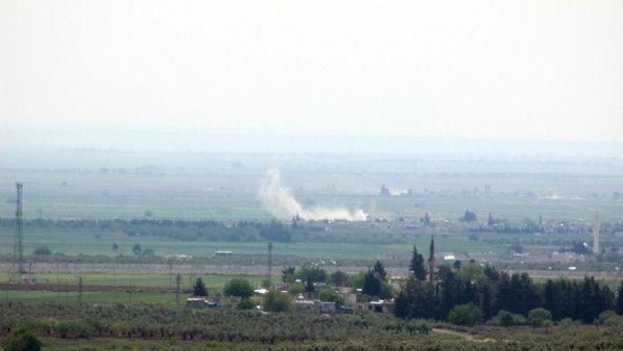 Fırtına Obüs Topları, IŞİD Mevzilerini Vurdu