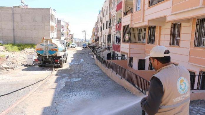 Haliliye Halkı Güne Temiz Cadde Ve Sokaklarda Başlıyor