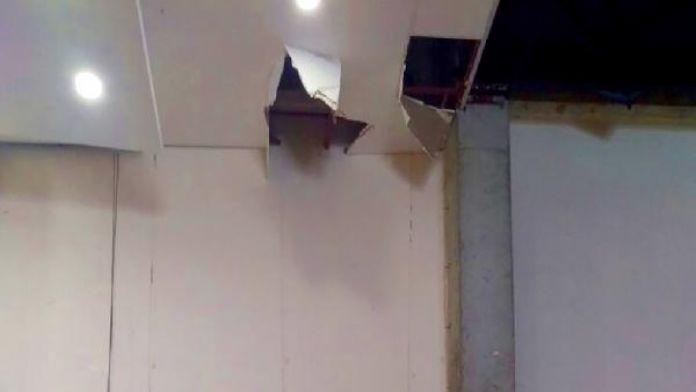 Suriyeli inşaat işçileri 10 metreden düştü: 1 ölü, 1 yaralı