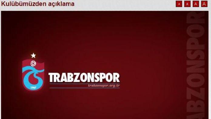 Trabzonspor'dan 'UEFA haberi' açıklaması