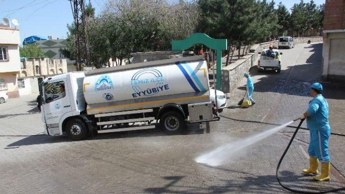 Eyyübiye Belediyesinden Temizlik Atağı