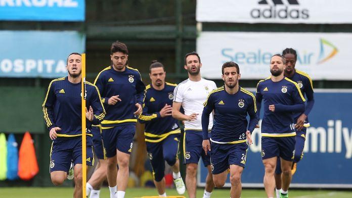 Fenerbahçe Mersin mesaisinde