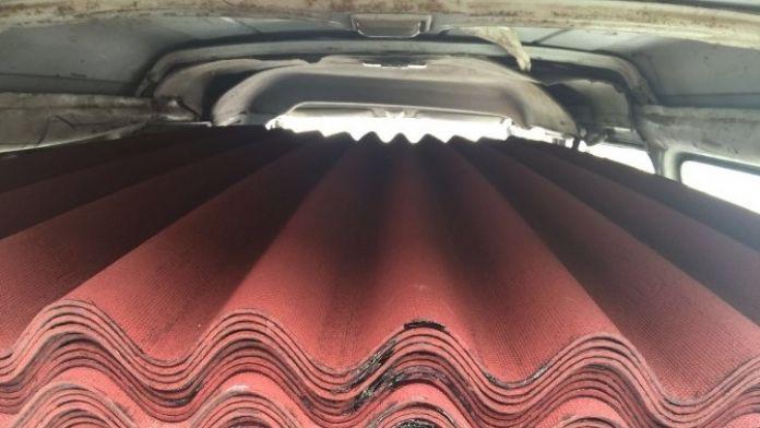 Çatı Malzemesi Çalan Hırsızlar Yakalandı