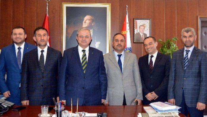 Aydın DİVA-SEN, İl Emniyet Müdürü Böğürcü'yü Ziyaret Etti
