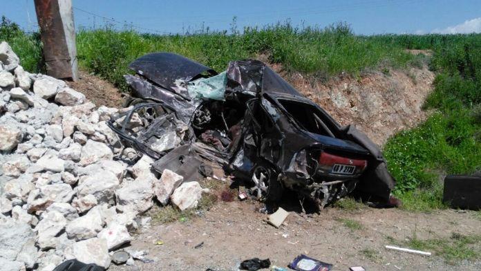 Karayolunda yarış kaza getirdi: 2 ölü