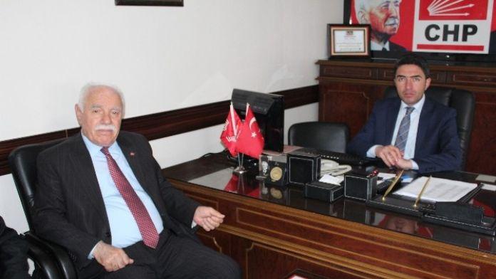 MHP'den CHP'ye Ziyaret