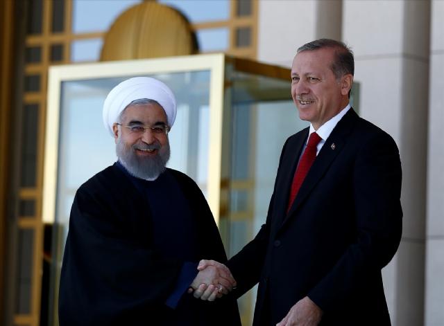 Kınamanın Ardından Ruhani ile Erdoğan İlk Kez Bir Arada