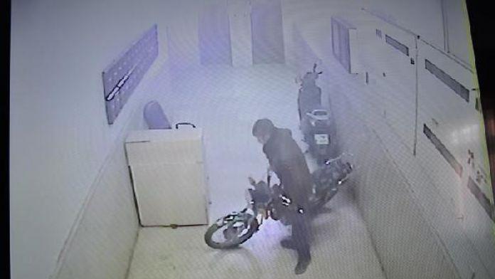 Nizip'te motosiklet hırsızı tutuklandı