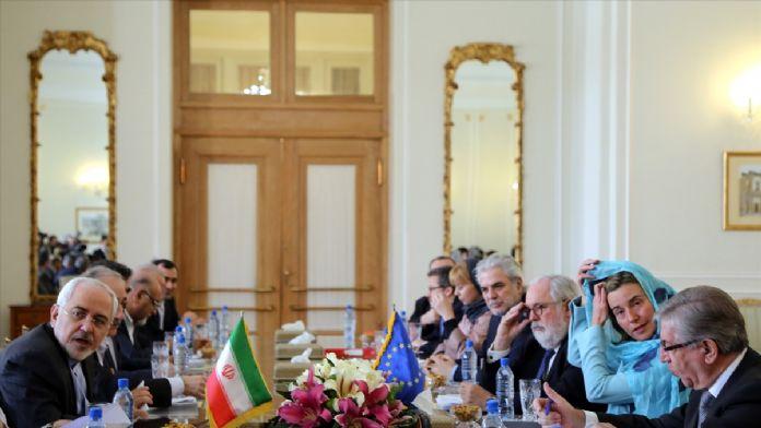 AB Dış İlişkiler Temsilcisi Mogherini İran'da