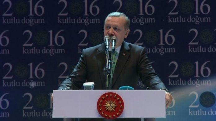 Erdoğan: Üç tehlike ile karşı karşıyayız
