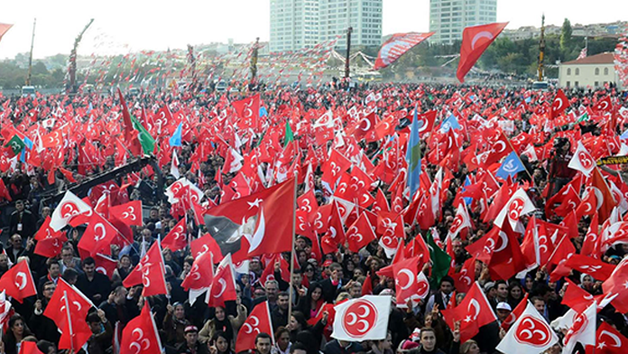 BBP partisi MHP'ye katılacak