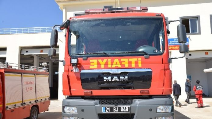 Diyarbakır İtfaiyesi Araç Filosunu Genişletiyor