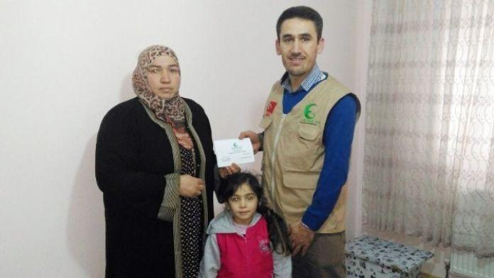 Sadaka Derneği, Suriyeli Dawoud Ailesinin Yüzünü Güldürdü