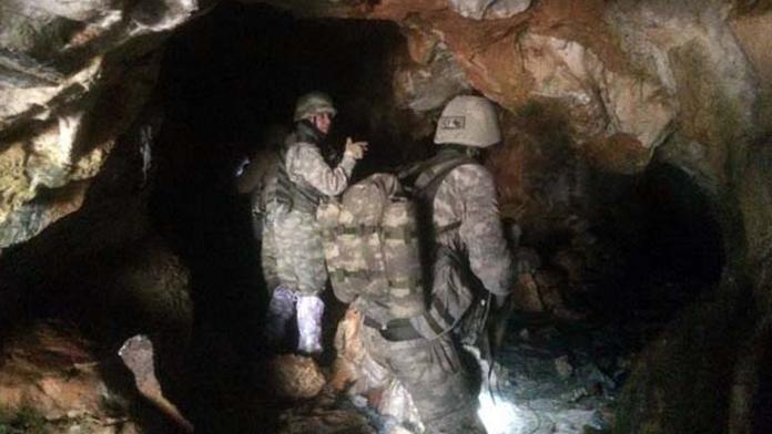 Sınırdaki PKK'lılar vuruldu