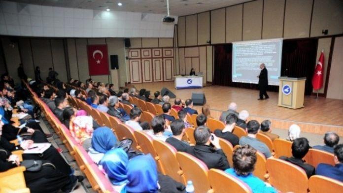 Van'da 'Evrim'in Din Ve Bilim'deki Yeri' Konulu Konferans