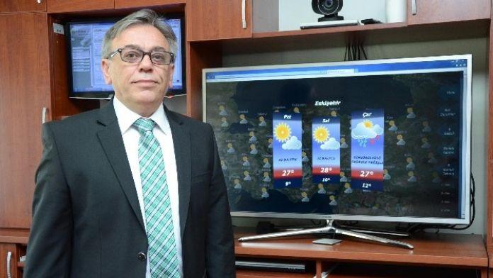 Eskişehir'de Hava Sıcaklıkları Artıyor