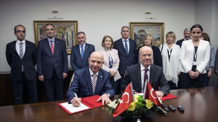Dışişleri Bakanlığı ile Ankara Üniversitesi arasında iş birliği p