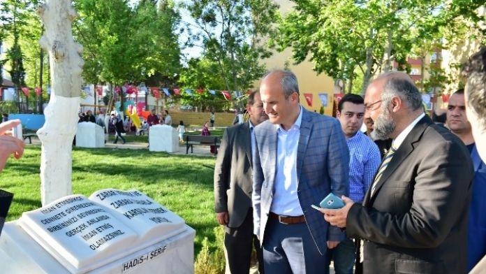 Dulkadiroğlu Belediyesi'nden Hadis-i Şerif Hassasiyeti