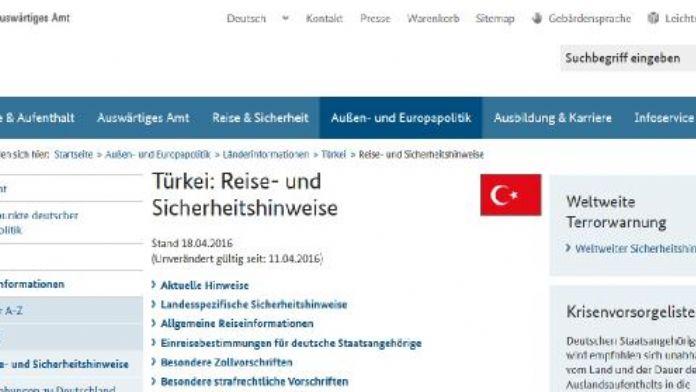 Almanya'dan Türkiye'ye gidecek vatandaşlarına uyarı: Ne konuştuğunuza dikkat edin
