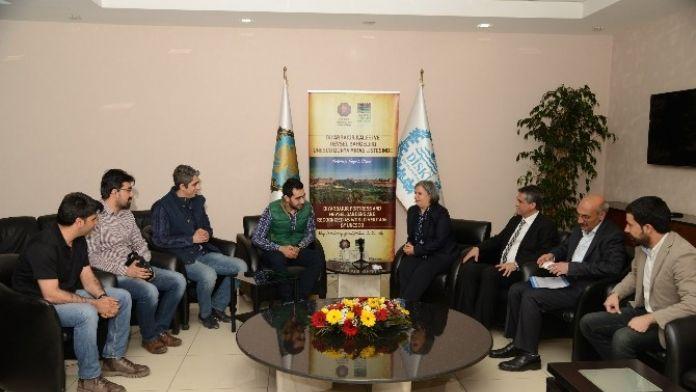 İMO'nun Yeni Yönetimi Eş Başkanları Ziyaret Etti