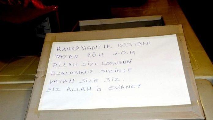 Antalyalı Polis Eşlerinden Mardin'deki Polislere Gıda Ve İhtiyaç Malzemesi