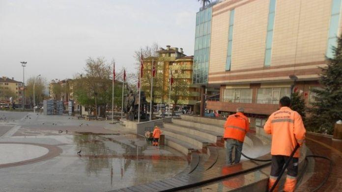 Safranbolu Belediyesinden Bahar Temizliği
