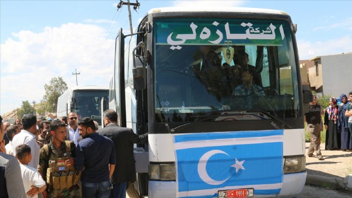 Irak'taki 68 Türkmen Ankara'da tedavi edilecek